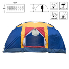 familytentcamping, Hiking, Outdoor, Family