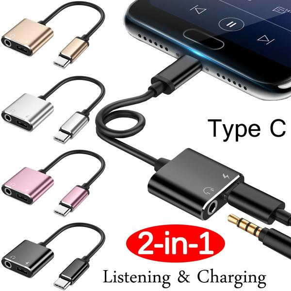usbchargingcable, headphoneadapter, Earphone, usb