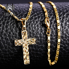 Fashion, Christian, gold, relogiousnecklace