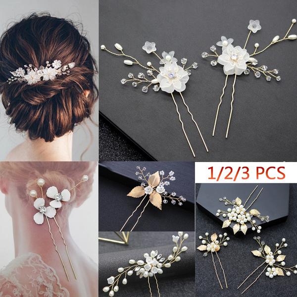 Crystal, hairornament, Barrettes, Jewelry