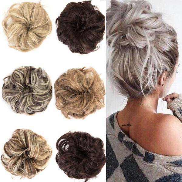 hairchignon, shortshair, hairbun, Hair Extensions