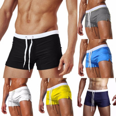 Summer, swimmingtrunk, Shorts, Men