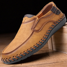 casual shoes, men's flats, leather shoes, casual leather shoes