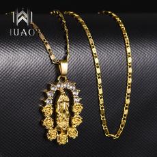 virginmarynecklace, Christian, Jewelry, goldvirginmary