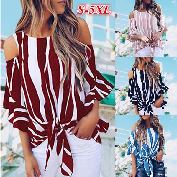 Summer, Plus Size, Lace, loose t-shirt