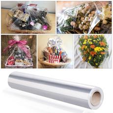 flowerbasketwrapping, giftpacking, giftpaperroll, transparentwrappaper