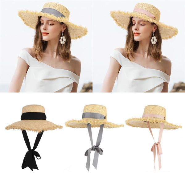 Summer, Fashion, womensummerbeachcap, grasscap