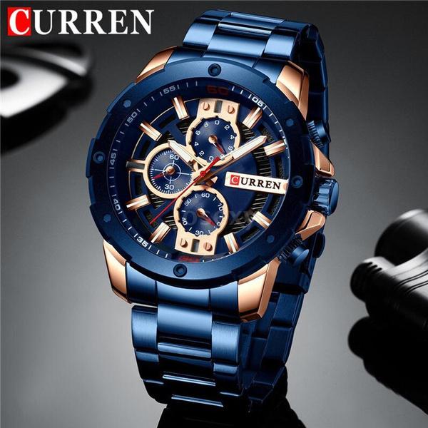 Chronograph, Steel, Fashion, business watch