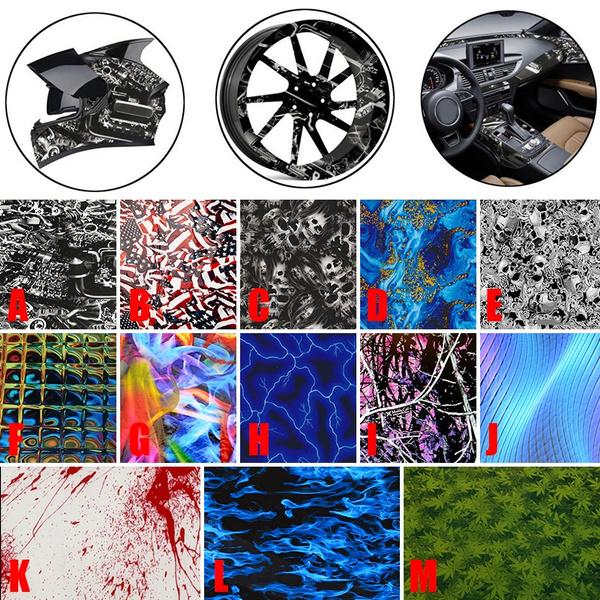 PVA Printing Hydrographics Water Transfer Dip Hydro Film Star 1000x50cm