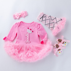 Clothes, Baby Girl, 4 PC, Winter