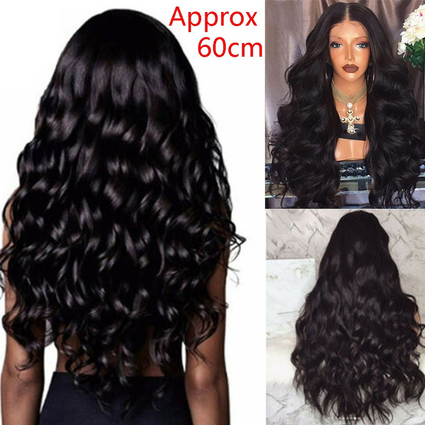 Synthetic, wig, Fashion, Curly Hair
