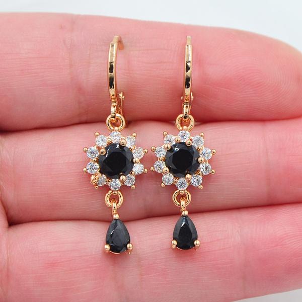 yellow gold, topazjewelry, Dangle Earring, Jewelry