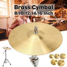 Brass, brasssplashcymbal, Jazz, brasscymbal