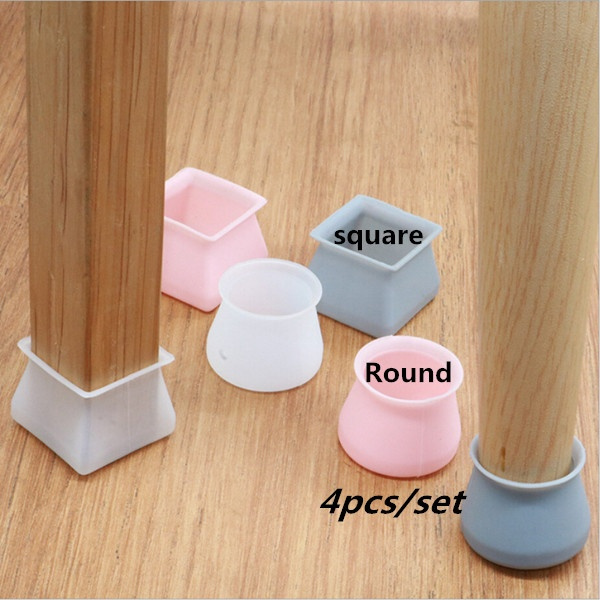 non-slip, pink, Square, legs
