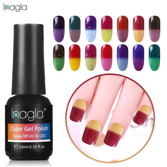 Nails, changingcolornailpolish, uv, chameleonnailart