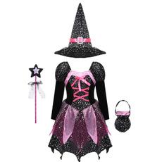 Fashion, carnivalcosplay, Long Sleeve, Dress