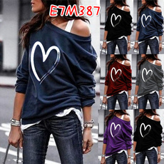 blouse, Heart, Plus Size, Clothes