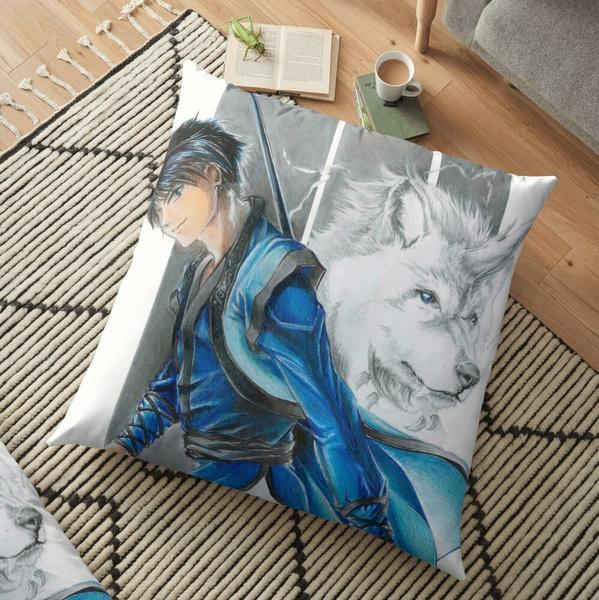 decorativepillowcase, akatsukinoyona, Pillowcases, Cushion Cover