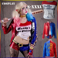 Fashion, Cosplay, jokercostume, harleyquinn