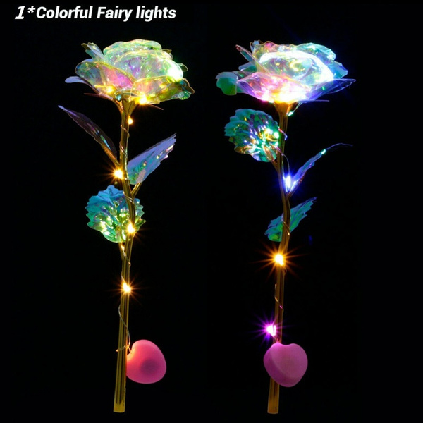 Flowers, led, Romantic, Gifts