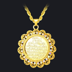 oldfashionnecklace, Jewelry, gold, religiousnecklace