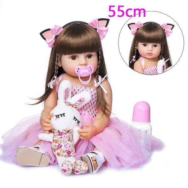 Toy, Princess, fullbodysiliconerebornbaby, newbornbaby
