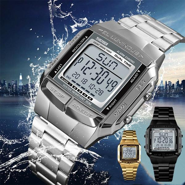 LED Watch, Fashion Accessory, led, Waterproof
