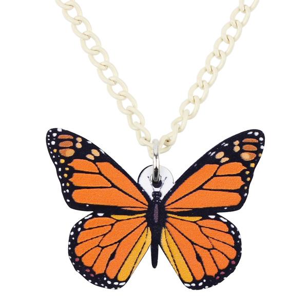 butterfly, chokercollarnecklace, Collar, monarchbutterflynecklace