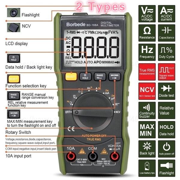 Mini, Electric, digitalmultimeter, Tool