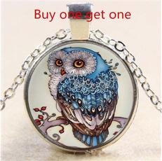 Beautiful, Owl, Chain Necklace, Fashion