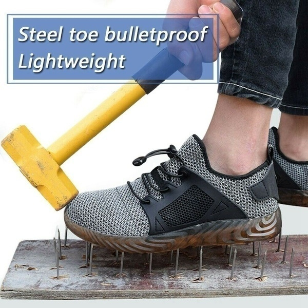 Steel, Plus Size, workshoe, Breathable