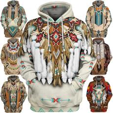 3D hoodies, hoody clothing, nativeamerican, lakotasiouxart
