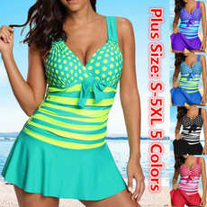bathing suit, Plus Size, bikini set, Tankini Set