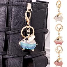pigkeychain, Key Chain, Jewelry, Key Rings