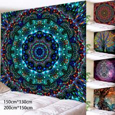Yoga Mat, Decor, Wall Art, mandalatapestry