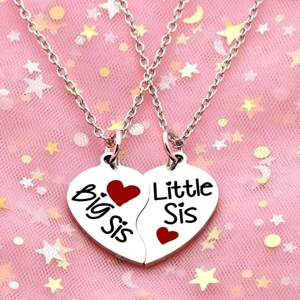 Heart, Jewelry, setjewelry, necklace for women