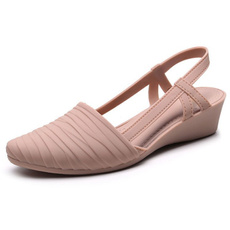 wedge, Outdoor, jelly, sandals for women