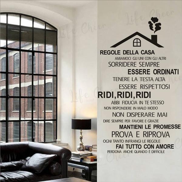 adesivodaparete, art, Home Decor, Italian