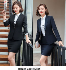 Plus Size, Office, Long Sleeve, ladiesblazersset