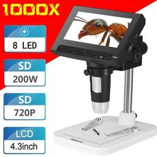 electronicmicroscope, 1000timeselectronicdigitalmicroscope, led, usb