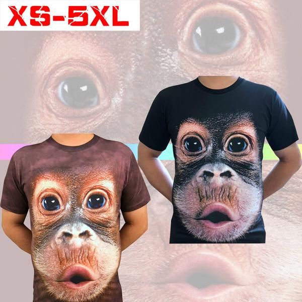monkey, Funny, Printed T Shirts, #fashion #tshirt