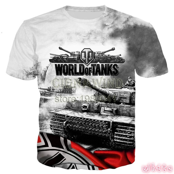 Summer, Fashion, Shirt, World of Tanks