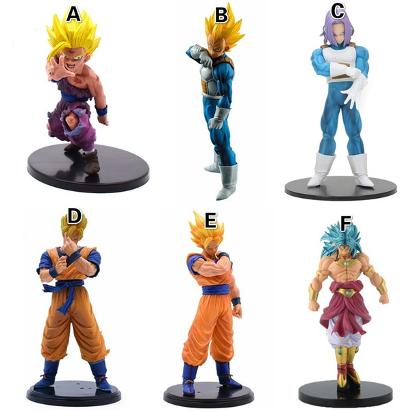 Dragon Ball Z Super Saiyan Son Goku Vegeta PVC Action Figure Collection Toy Gift