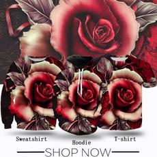 Fashion, Shirt, teenclothe, Rose