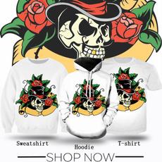 Fashion, Shirt, skull, teenclothe