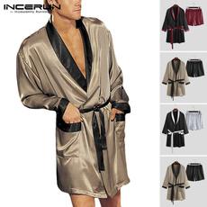 pajamaset, Fashion, Shirt, silkpajama