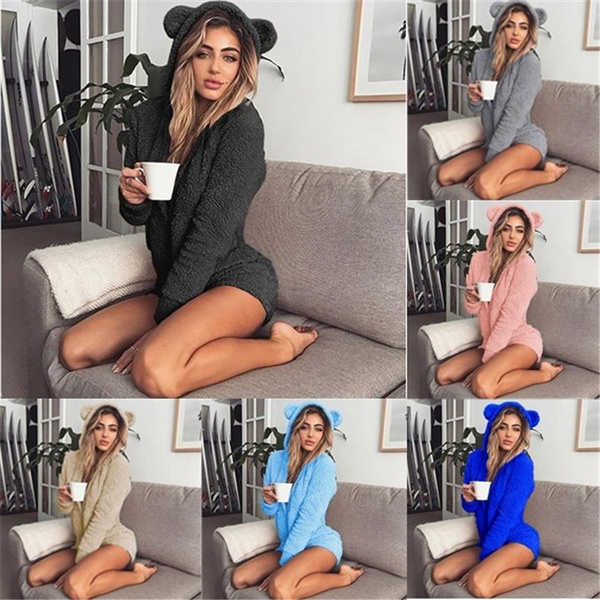 women's pajamas, Fashion, Long Sleeve, slim