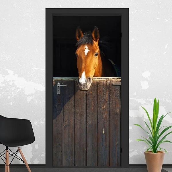 doorcover, decoration, doormural, Door