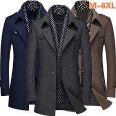 Casual Jackets, collar slim, Fashion, Winter