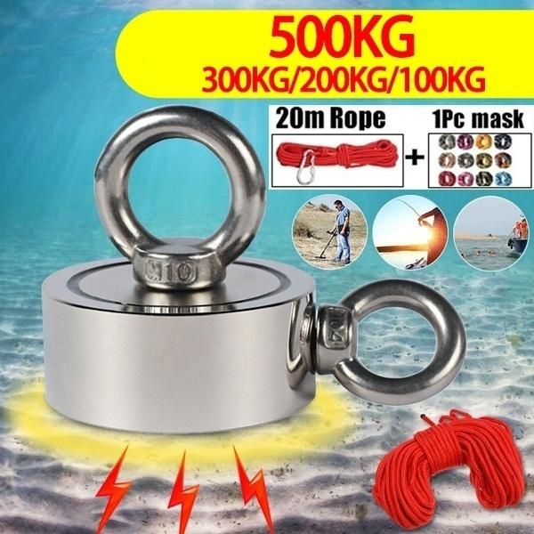 Rope, roundmagnet, magnetichook, neodymiummagnet
